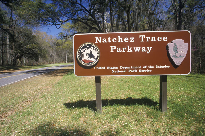 Natchez Trace Parkway, Mississippi